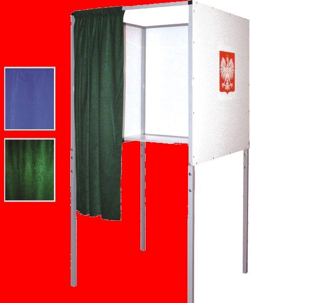 A foldable voting cabin